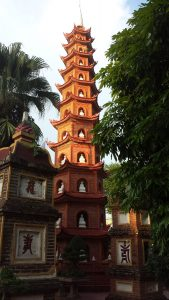 Famous Temple in Hanoi Vietnam