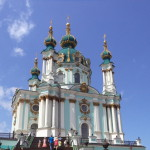 St. Andre's Church in Kiev