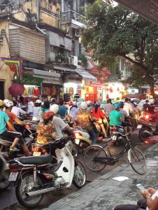 Traffic Jam in Hanoi