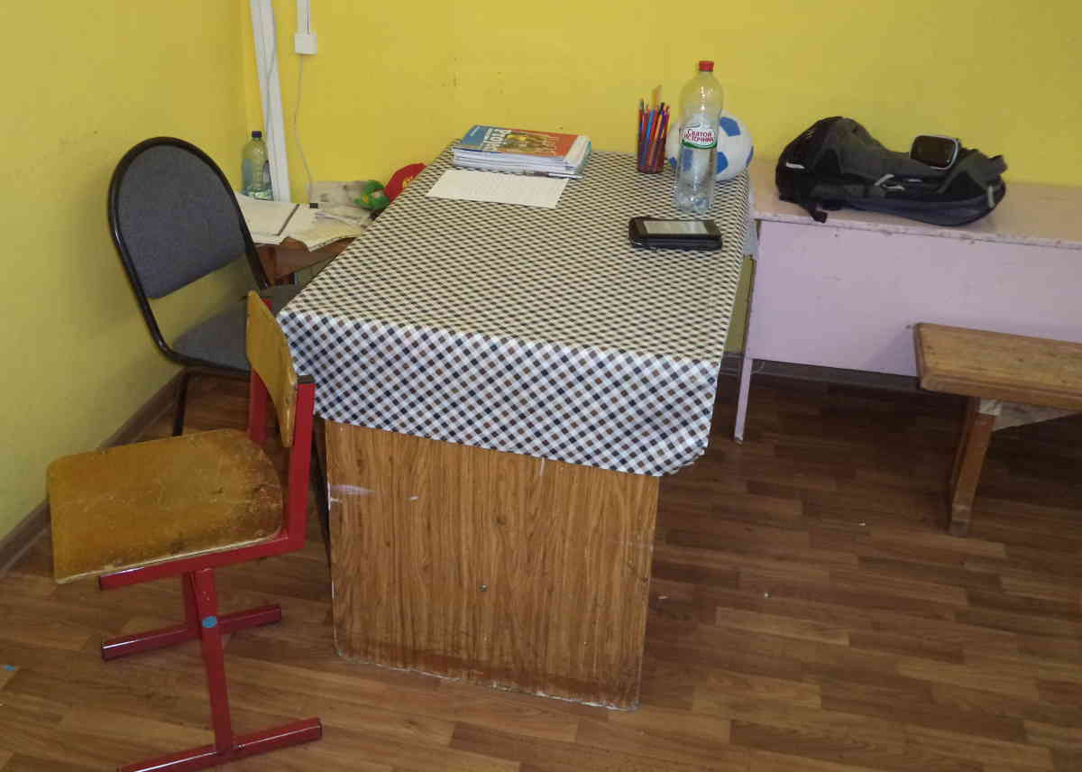 My office at a Russian public school