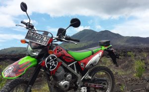 A Dirt Bike at Mt. Batur Bali