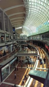 A picture of the Mall in Singapore