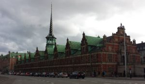 An amazing building in Copenhagen