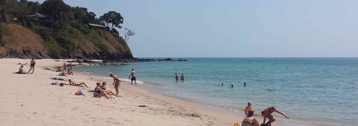 A Picture of the beach on Koh Lanta Thailand